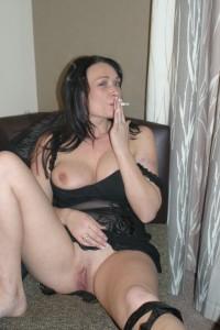 Naakt roken