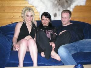 Trio met mijn vriendin