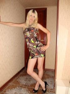 Blond meisje sexy