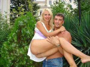 Blonde ex-vrouw