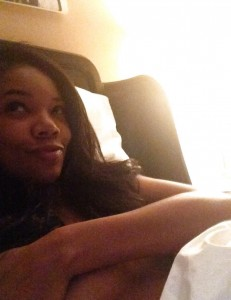 Negerin selfie.